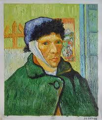 Portrait de van gogh l 39 oreille coup e 28 - Autoportrait van gogh oreille coupee ...