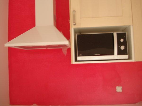Mon mur de cuisine couleur framboise ma petite vie pour 2009 for Cuisine blanche mur framboise